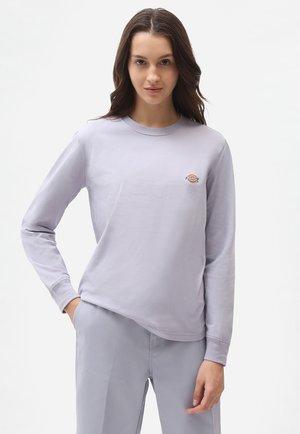 LS MAPLETON TEE W - Langærmede T-shirts - lilac gray