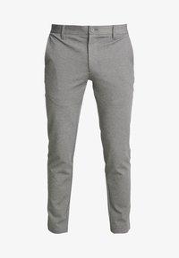 INDICODE JEANS - KOLDING - Spodnie materiałowe - grey mix - 3