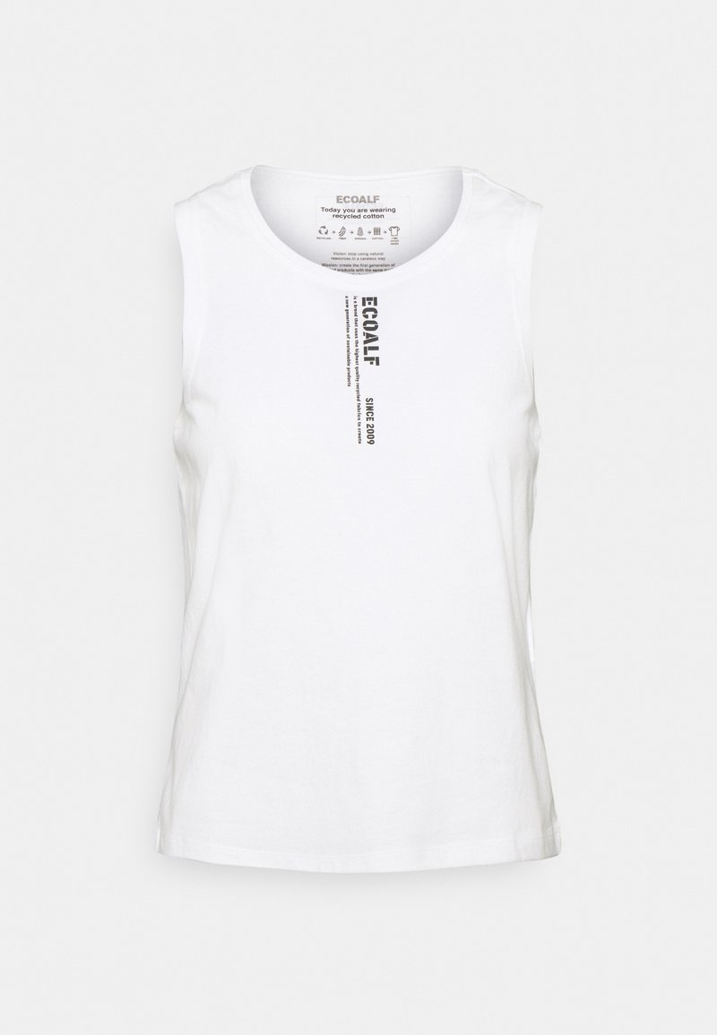 Ecoalf - TANK WOMAN - Top - off white