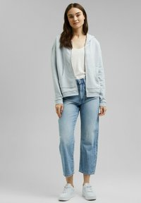 edc by Esprit - Zip-up sweatshirt - light blue lavender - 1