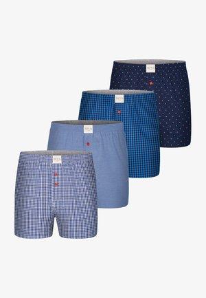 4ER PACK WEB CLASSIC - Boxershort - blau