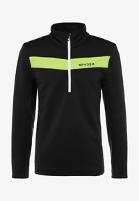 Spyder - ENCORE HALF ZIP - Bluza z polaru - black mojito - 4