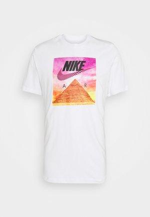 TEE FESTIVAL PHOTO - Print T-shirt - white