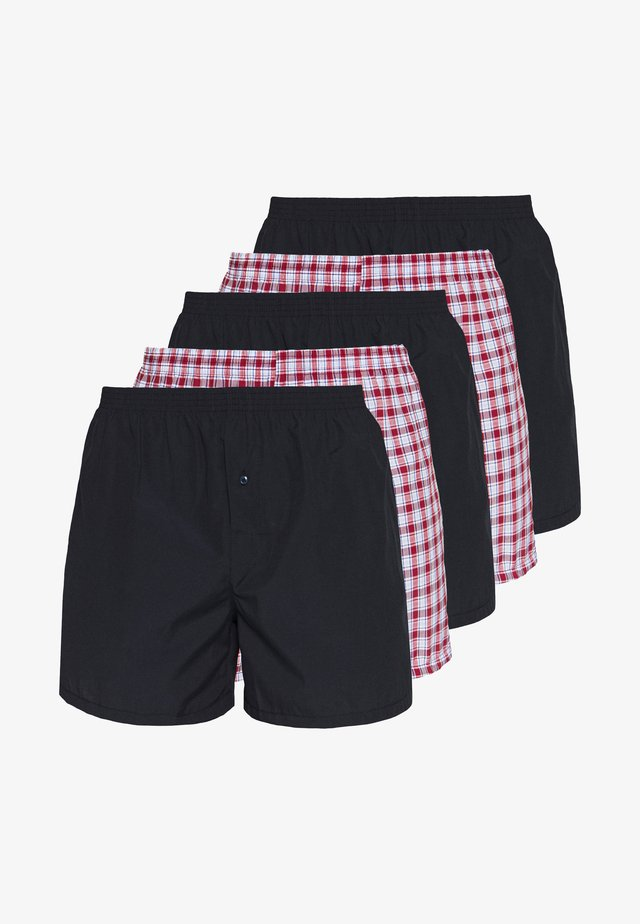 5 PACK - Boxer shorts - dark blue/red
