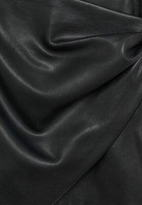 Mango - Wrap skirt - noir - 6