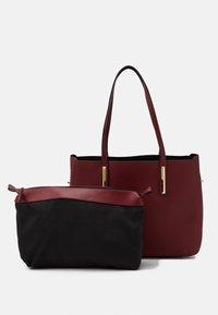 Anna Field - SET - Handbag - dark red - 3