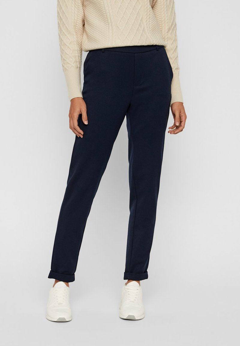 Vero Moda - VMMAYA LOOSE SOLID PANT  - Broek - night sky