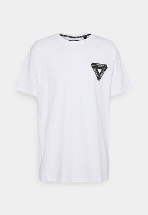 DRACO - T-shirt med print - white