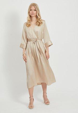 OBJALINA 3/4 DRESS - Day dress - humus