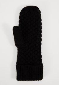 Even&Odd - Mittens - black - 1