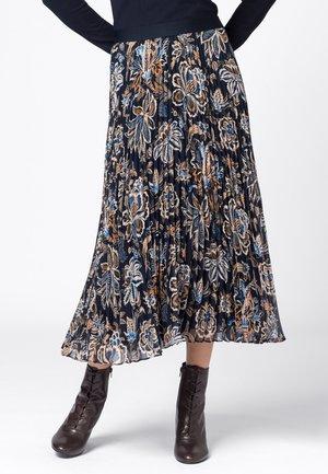 Pleated skirt - multicolor