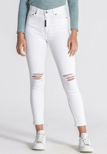 RIPPED - Jeans Skinny Fit - white