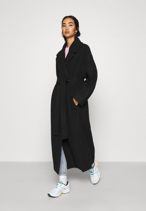 KIA BLEND COAT - Klassisk kappa / rock - black