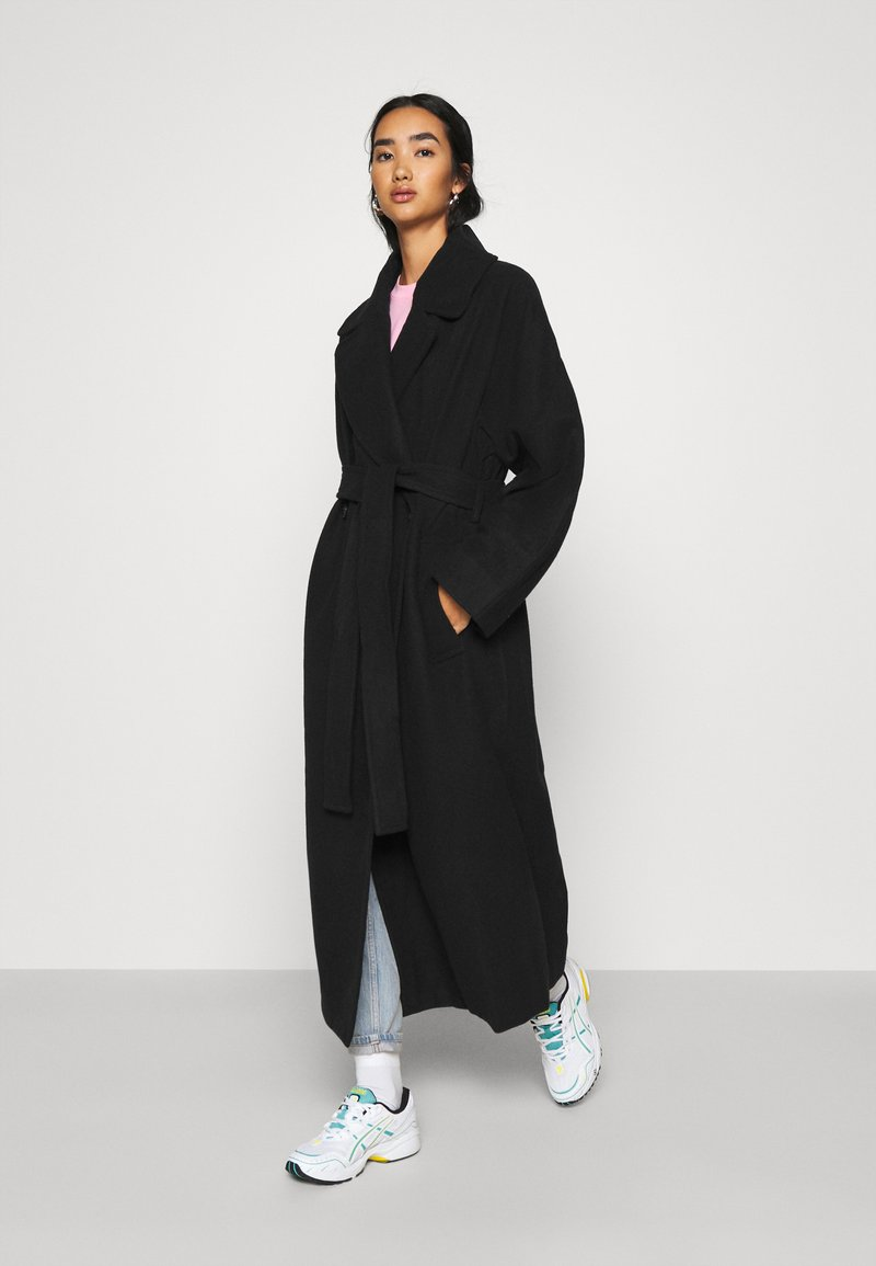 Weekday - KIA BLEND COAT - Mantel - black