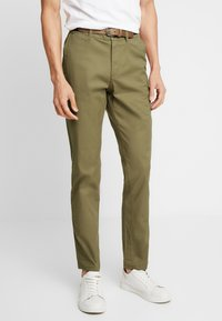 Selected Homme - SHHYARD  - Pantalones - dark camel - 0