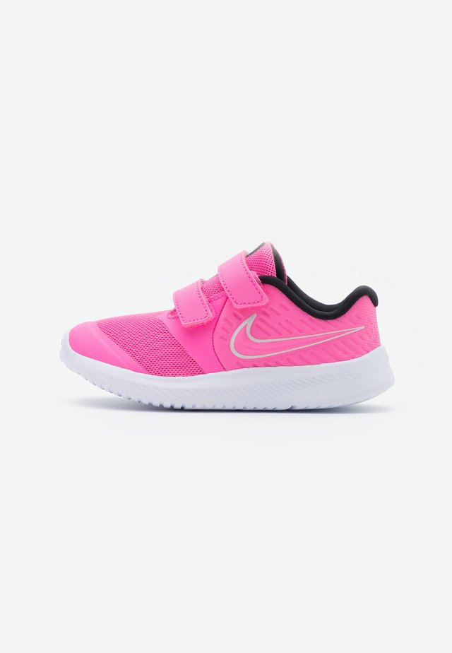 STAR RUNNER 2 UNISEX - Zapatillas de running neutras - pink glow/photon dust/black/white