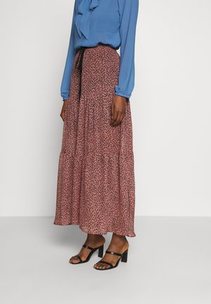 WILLIA SKIRT - Maxiskjørt - old rose