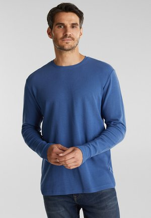 LONGSLEEVE - Long sleeved top - grey blue