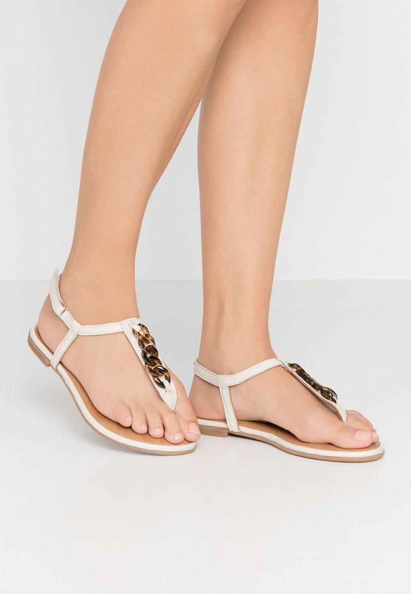 Tamaris - Flip Flops - ivory