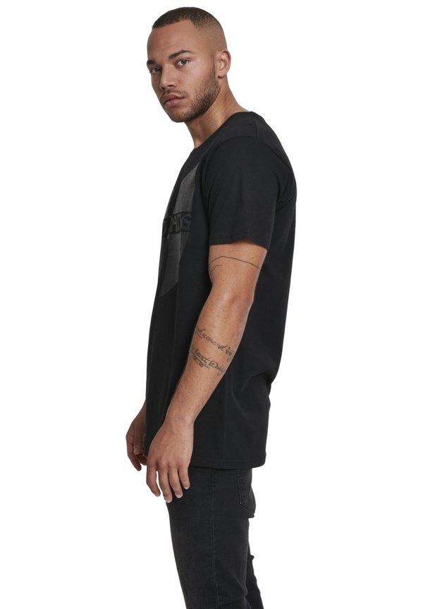 Mister Tee WU-WEAR BLACK LOGO - T-shirt z nadrukiem - black/czarny Odzież Męska BIEL