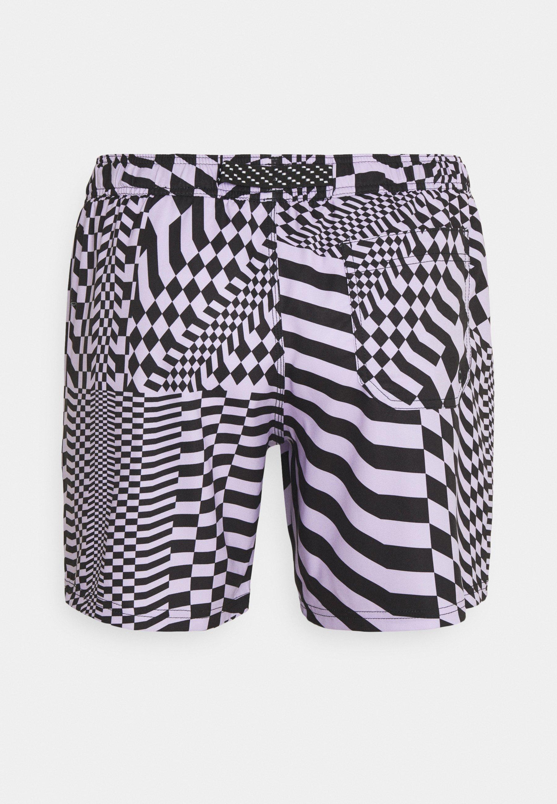 Men SWIM MEN PSYGEO MID - Swimming shorts