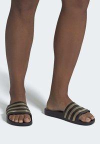 adidas Performance - ADILETTE AQUA SWIM - Sandali da bagno - black - 0