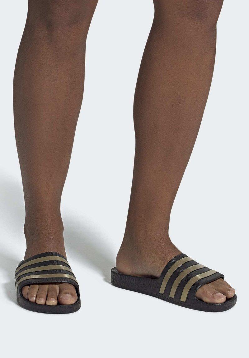adidas Performance - ADILETTE AQUA SWIM - Sandali da bagno - black