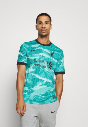 LIVERPOOL FC - Club wear - hyper turqoise/black