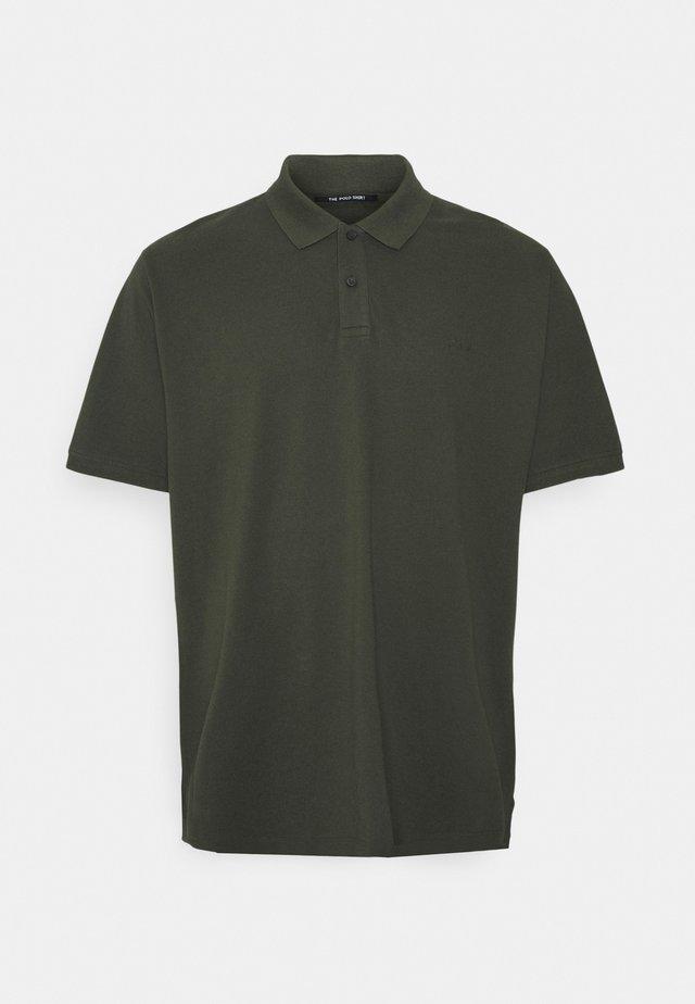 BASIC BIG - Poloshirt - khaki/oliv