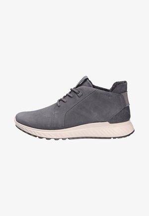 Lace-up ankle boots - titanium