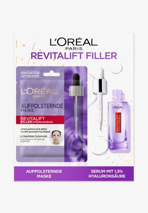 SKINCARE REVITALIFT FILLER + TISSUE MASK SET - Skincare set - -