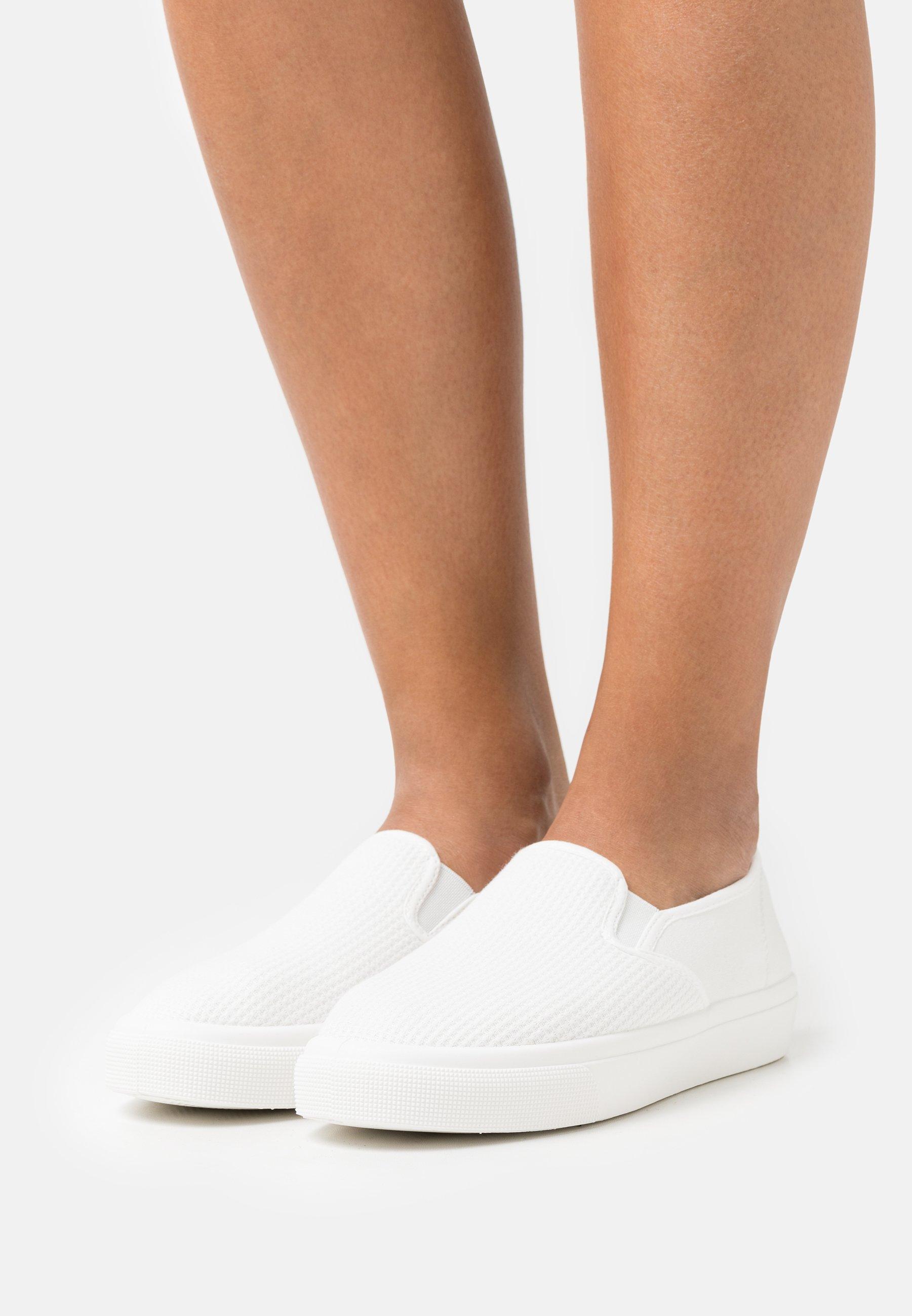 Women HARPER - Slip-ons - white