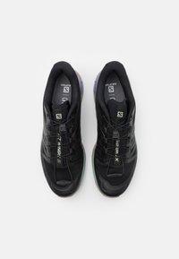 Salomon - XT WINGS 2 UNISEX - Sneakers basse - black/vintage kaki/gray - 5