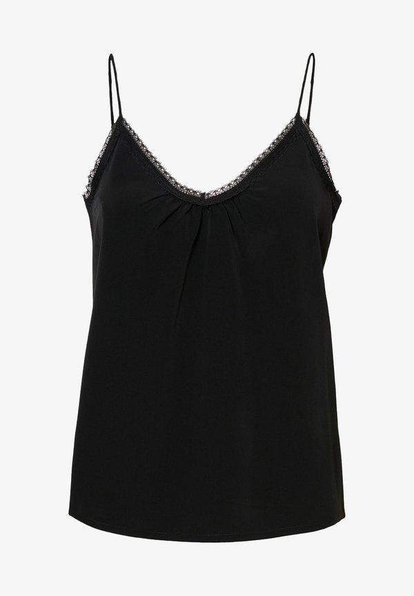 Vero Moda Bluzka - black/czarny GSOW