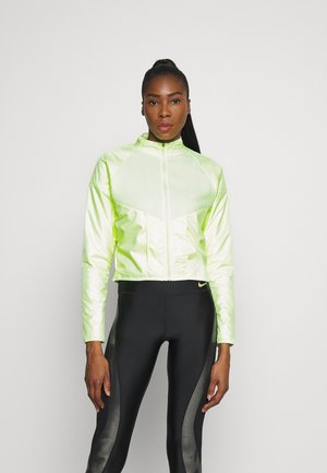 RUN MID - Fleece jacket - barely volt/gold/black