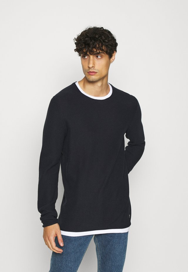 STRUCTURE LIGHT WEIGHT - Pullover - sky captain blue
