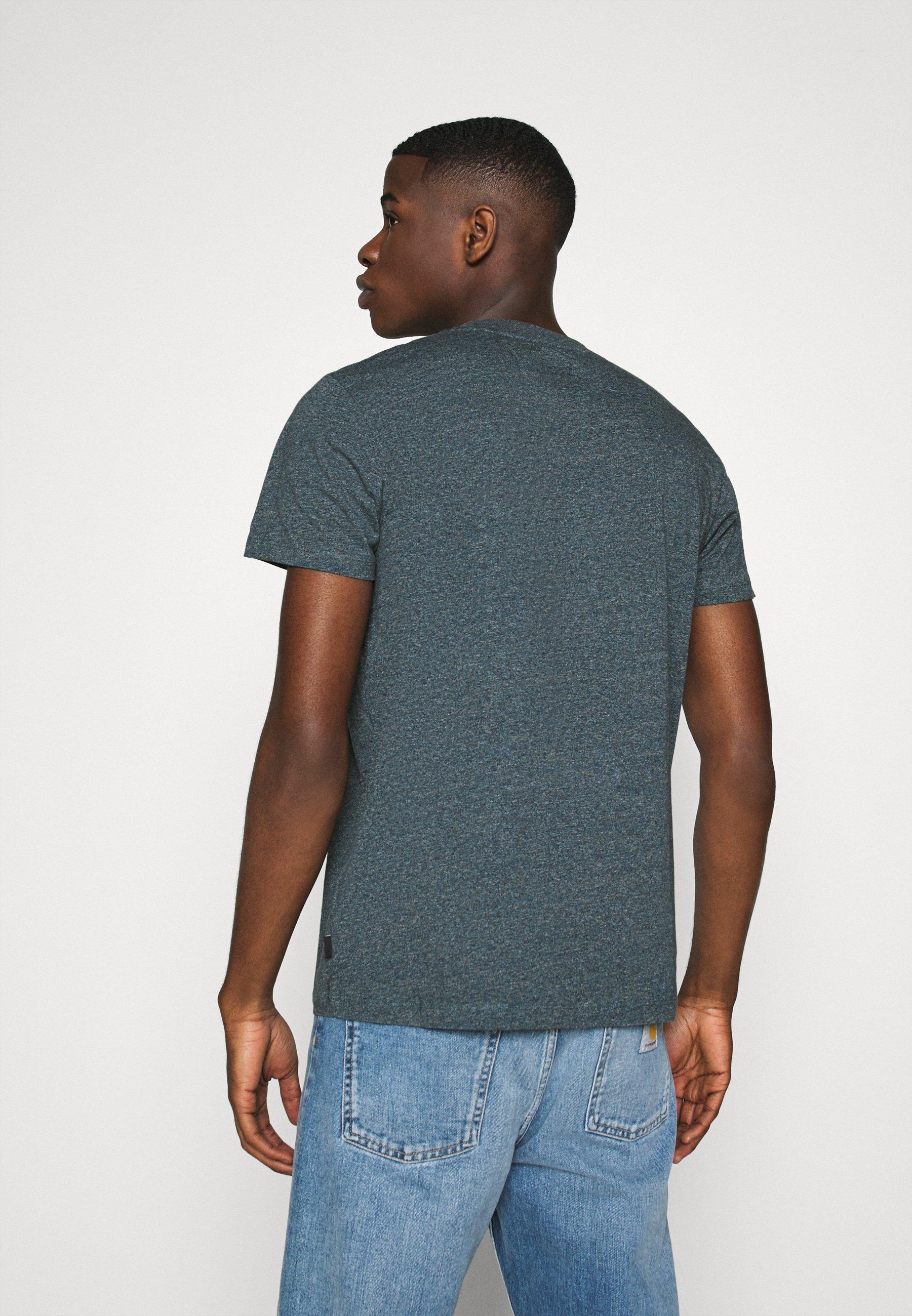 Esprit Basic T-shirt - grey/blue 8x1qa
