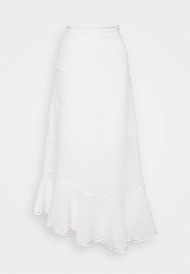 Won Hundred - MAIKEN - Áčková sukně - seedpearl white