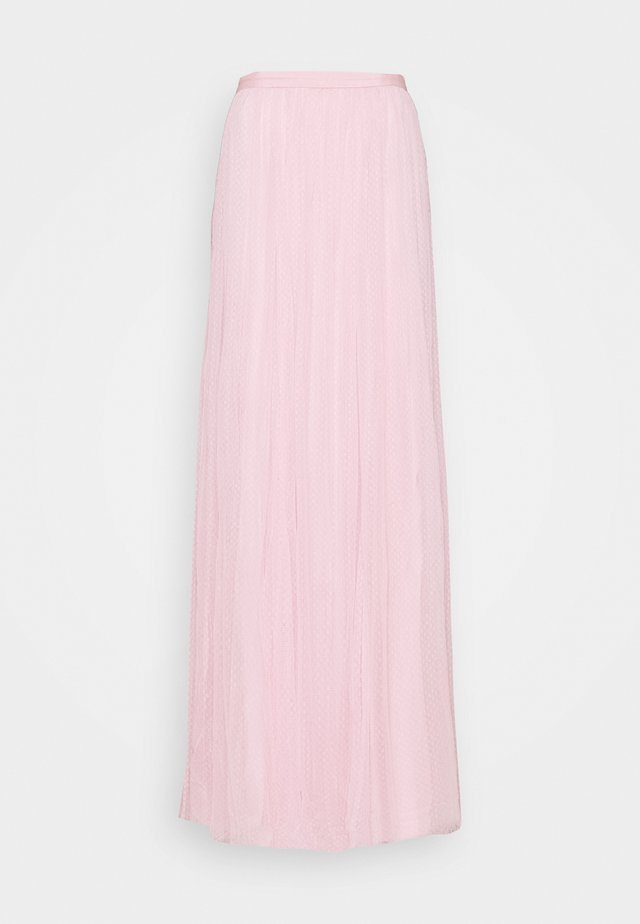 LONG SKIRT - Maxirock - pale pink