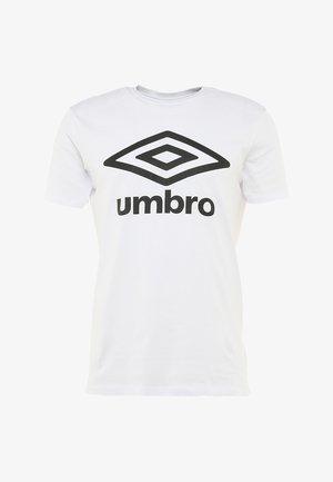 LARGE LOGO TEE - T-Shirt print - white