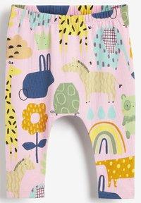 Next - 4 PIECE CHARACTER T-SHIRT AND LEGGINGS - Pyjamas - pink - 3