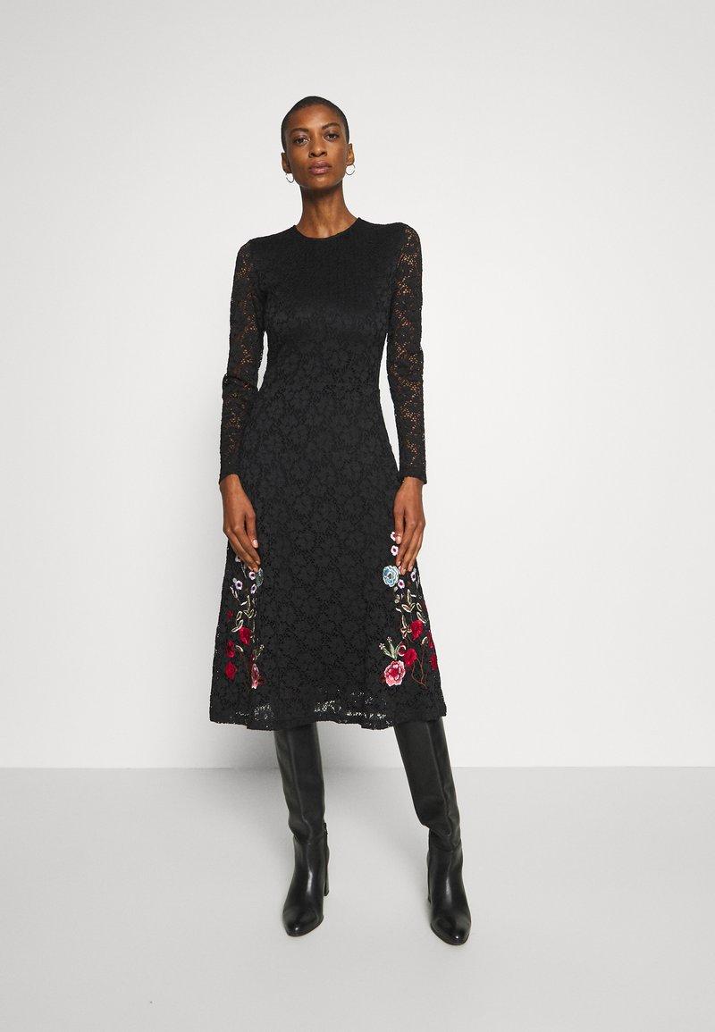Desigual - VENECIA - Sukienka koktajlowa - black