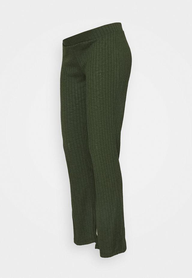 PCMSKYWEN FLARED PANT - Pantaloni - duffel bag