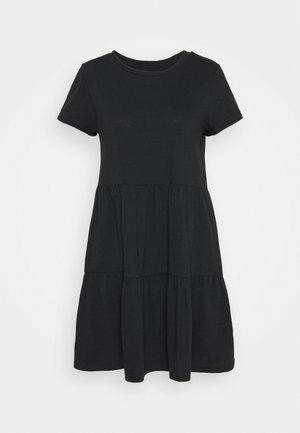 TIERED - Jersey dress - moonless night
