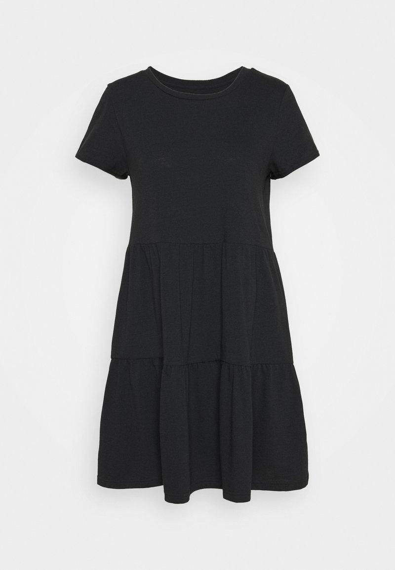 GAP - TIERED - Jersey dress - moonless night