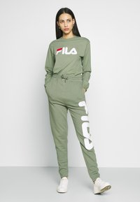 Fila Tall - PURE PANTS - Tracksuit bottoms - sea spray - 1
