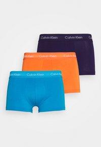 Calvin Klein Underwear - LOW RISE TRUNK 3 PACK - Culotte - blue - 5