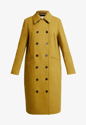 SLFWINNIE COAT - Classic coat - ecru/olive