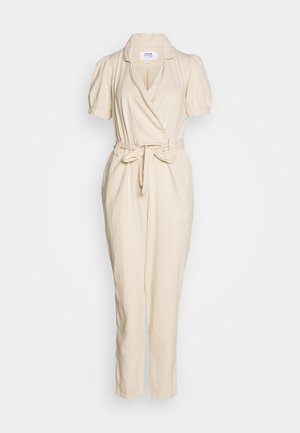 UTILITY JUMP - Jumpsuit - cream