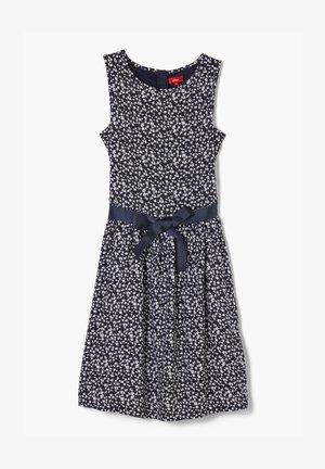 JURK - Day dress - dark blue millefleurs